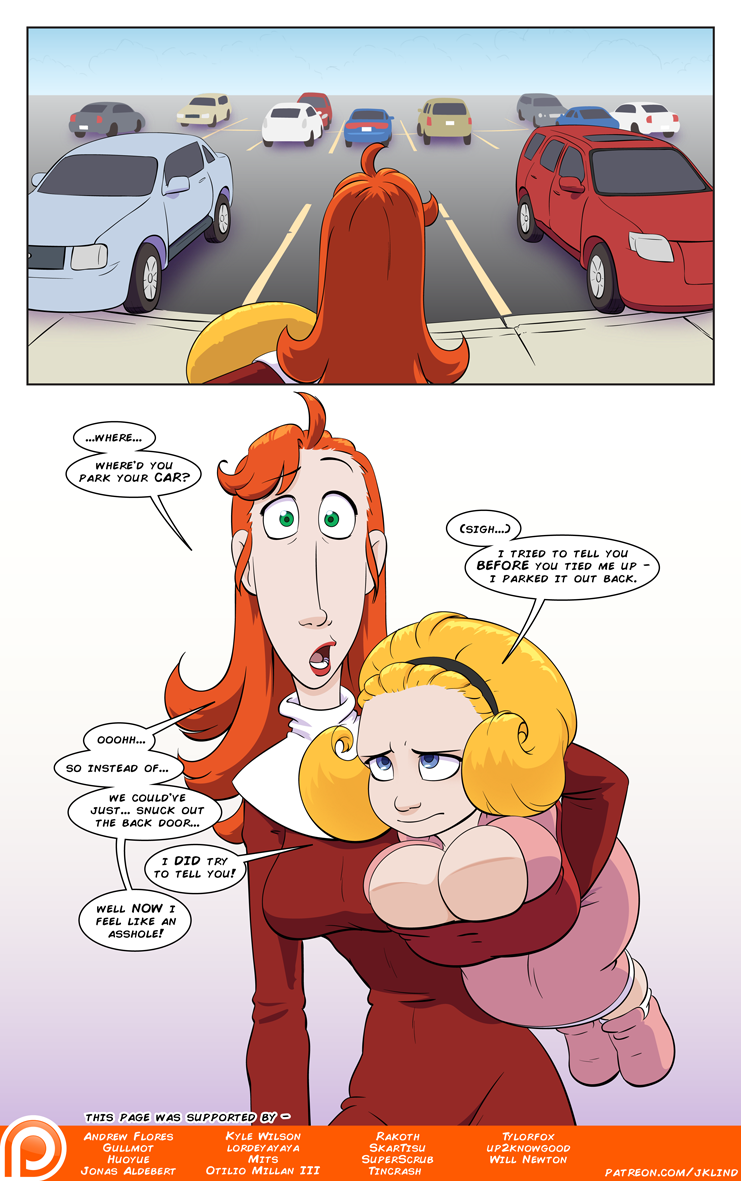 Bustin' Loose page 7
